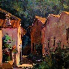 Arte: PAISAJE DEL PIRINEO EZEQUIEL GOMEZ VELLVE 1927. Lote 246676630