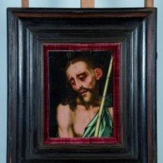 Arte: LUIS DE MORALES EL DIVINO ECCE HOMO PAINTING OIL PANEL CATALOGADO CHRISTIE'S SOTHEBY'S ISABEL MATEO. Lote 98933747