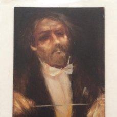 Arte: ÓLEO SOBRE TABLEX ,REPRESENTANDO DIRECTOR DE ORQUESTA,FIRMADO. Lote 246899660