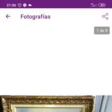 Arte: CUADRO ANTIGUO, DE MARIUS ROY.. Lote 247071695
