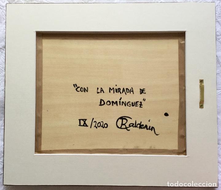 """Arte: """"CON LA MIRADA DE DOMÍNGUEZ"""" obra de la pintora canaria Ruth Calderín (LPGC 1977) - Foto 5 - 227557470"""