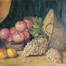 Arte: BODEGÓN DE FRUTAS POR J. SERRA. Lote 247478030