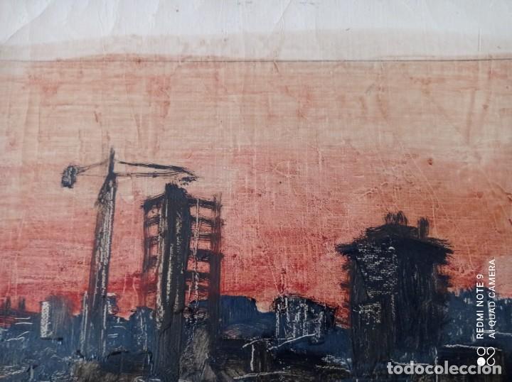 Arte: OLEO SOBRE LIENZO FIRMADO POR M.CALVET - Foto 2 - 247478160