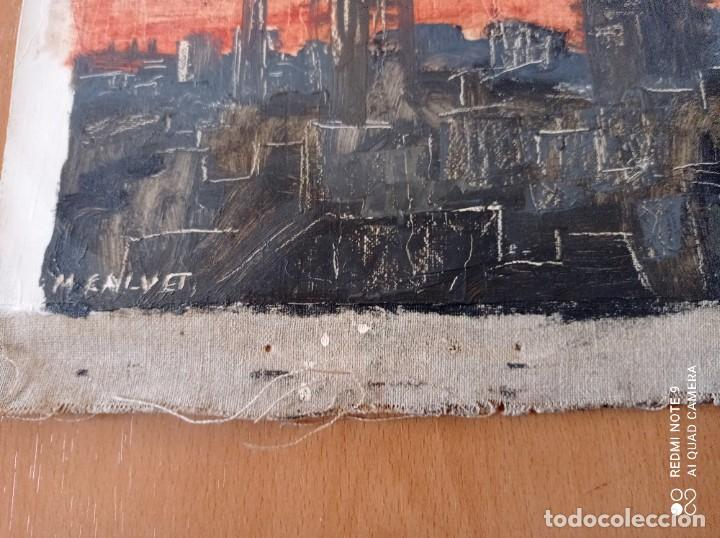 Arte: OLEO SOBRE LIENZO FIRMADO POR M.CALVET - Foto 3 - 247478160