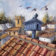 Arte: PINTURAS IRREPETIBLES. ÓLEO ORIGINAL DE AUTOR.. Lote 247688095