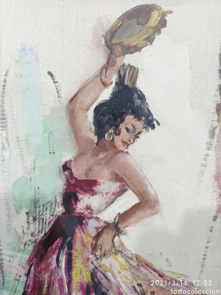 Arte: Pintura C. PASCALI - Bailadora - Foto 2 - 247790270