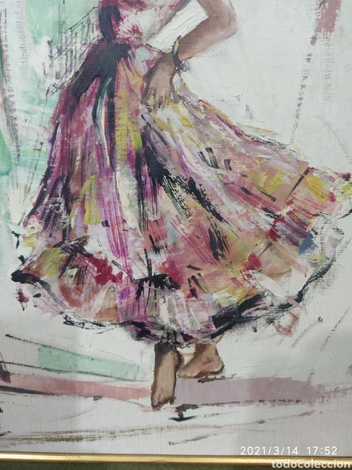 Arte: Pintura C. PASCALI - Bailadora - Foto 3 - 247790270