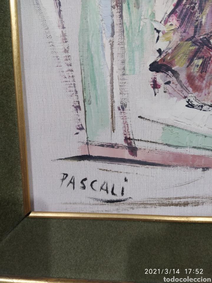 Arte: Pintura C. PASCALI - Bailadora - Foto 4 - 247790270