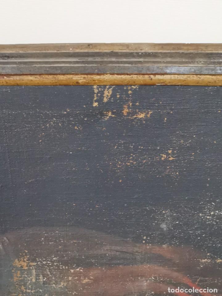 Arte: OLEO NATURALEZA MUERTA-BODEGON-CAZA-PESCA -SIGLO XVIII-CATALUÑA-- --REF-MO - Foto 6 - 248017635