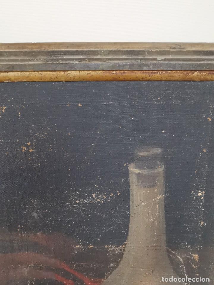 Arte: OLEO NATURALEZA MUERTA-BODEGON-CAZA-PESCA -SIGLO XVIII-CATALUÑA-- --REF-MO - Foto 7 - 248017635