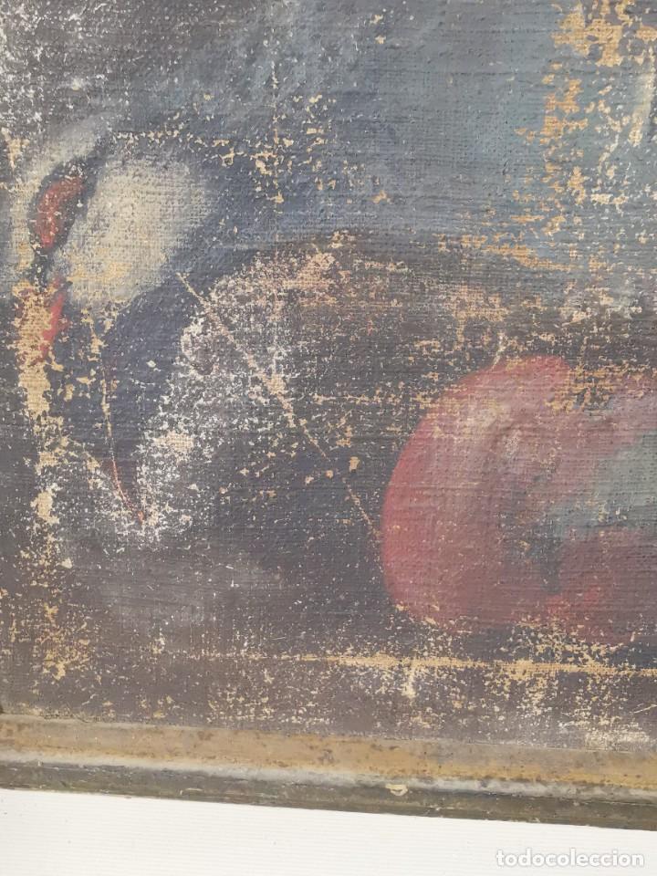 Arte: OLEO NATURALEZA MUERTA-BODEGON-CAZA-PESCA -SIGLO XVIII-CATALUÑA-- --REF-MO - Foto 13 - 248017635