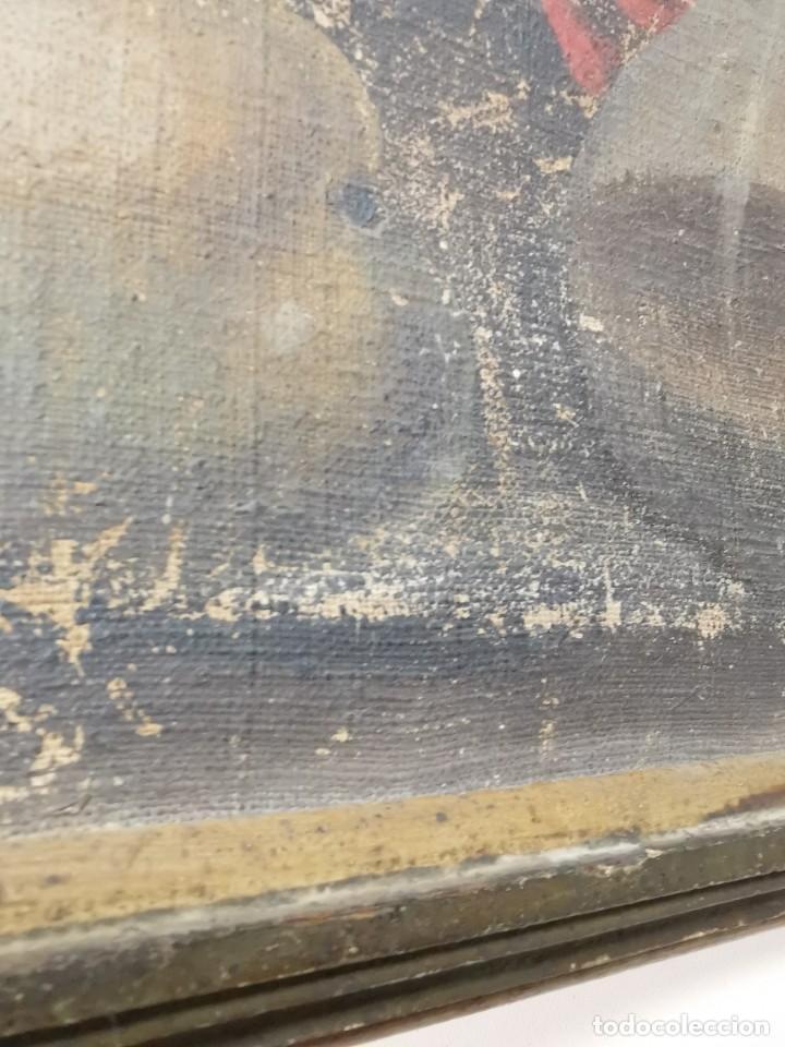 Arte: OLEO NATURALEZA MUERTA-BODEGON-CAZA-PESCA -SIGLO XVIII-CATALUÑA-- --REF-MO - Foto 21 - 248017635