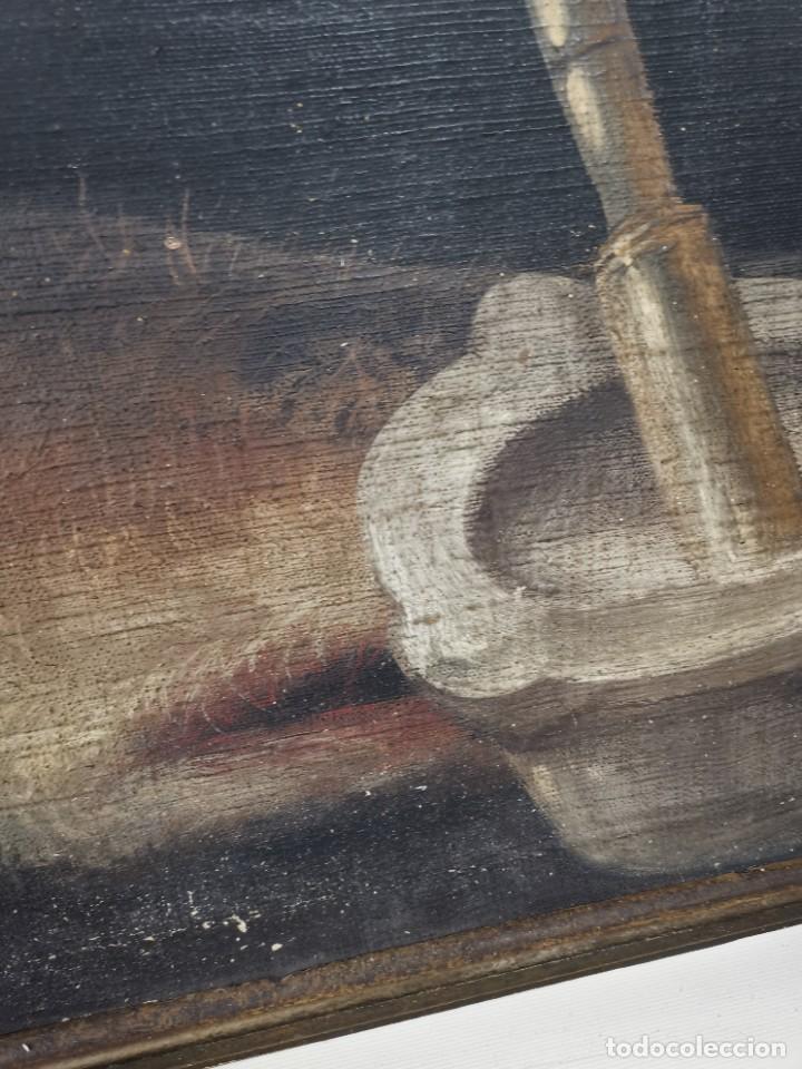 Arte: OLEO NATURALEZA MUERTA-BODEGON-CAZA-PESCA -SIGLO XVIII-CATALUÑA-- --REF-MO - Foto 11 - 248018070