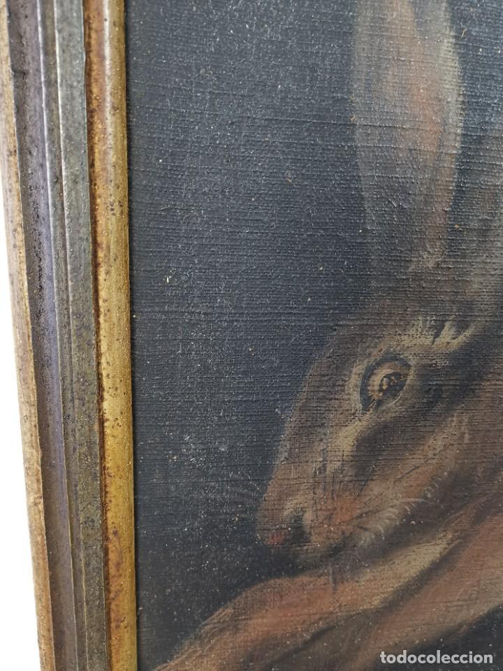 Arte: OLEO NATURALEZA MUERTA-BODEGON-CAZA-PESCA -SIGLO XVIII-CATALUÑA-- --REF-MO - Foto 14 - 248018070