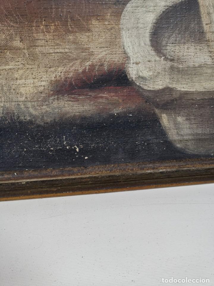 Arte: OLEO NATURALEZA MUERTA-BODEGON-CAZA-PESCA -SIGLO XVIII-CATALUÑA-- --REF-MO - Foto 18 - 248018070