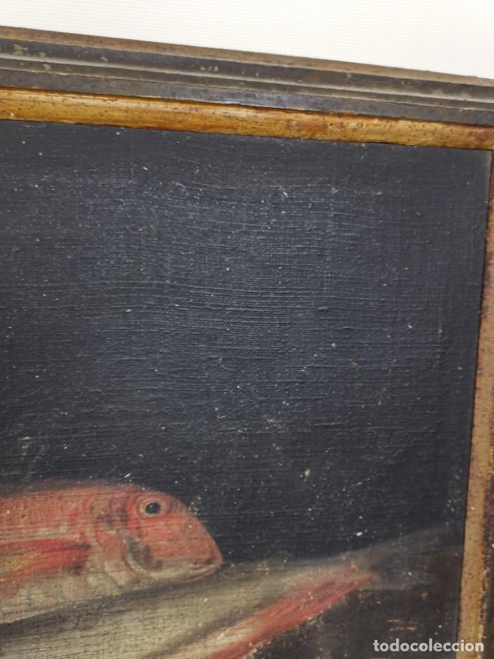 Arte: OLEO NATURALEZA MUERTA-BODEGON-CAZA-PESCA -SIGLO XVIII-CATALUÑA-- --REF-MO - Foto 6 - 248018340