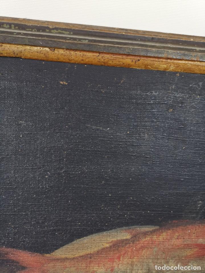 Arte: OLEO NATURALEZA MUERTA-BODEGON-CAZA-PESCA -SIGLO XVIII-CATALUÑA-- --REF-MO - Foto 8 - 248018340