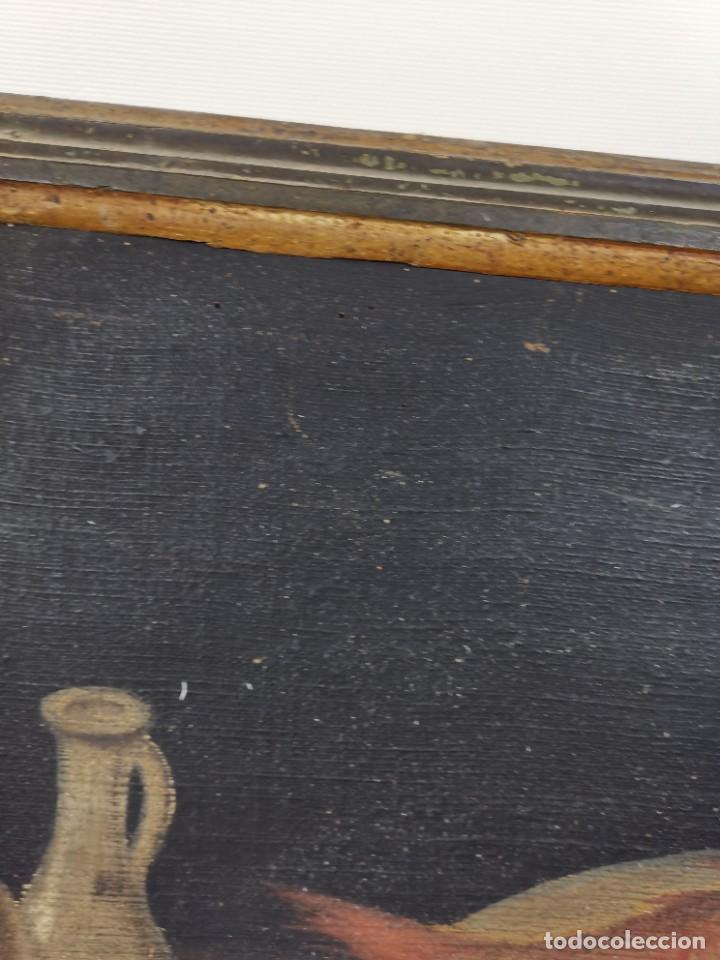 Arte: OLEO NATURALEZA MUERTA-BODEGON-CAZA-PESCA -SIGLO XVIII-CATALUÑA-- --REF-MO - Foto 9 - 248018340