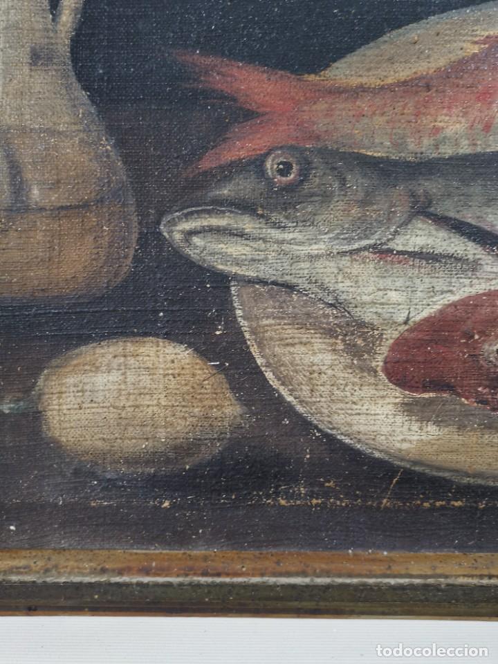 Arte: OLEO NATURALEZA MUERTA-BODEGON-CAZA-PESCA -SIGLO XVIII-CATALUÑA-- --REF-MO - Foto 13 - 248018340