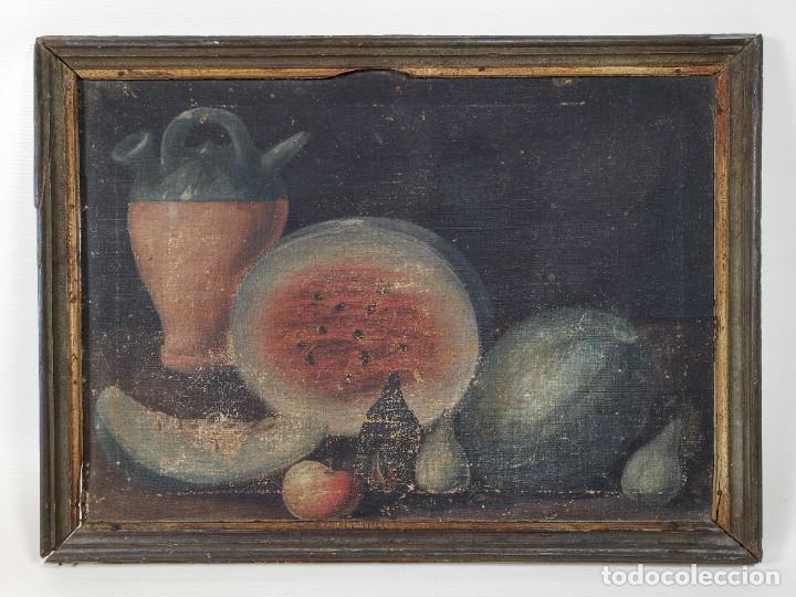 Arte: OLEO NATURALEZA MUERTA-BODEGON-CAZA-PESCA -SIGLO XVIII-CATALUÑA-- --REF-MO - Foto 3 - 248018720