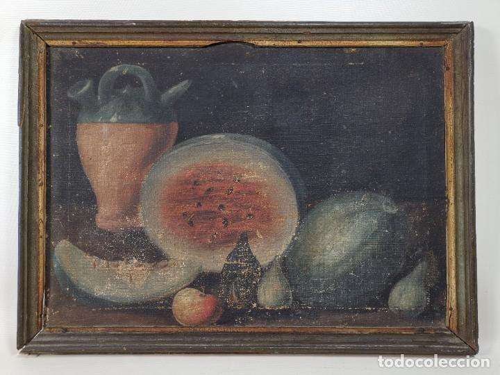 Arte: OLEO NATURALEZA MUERTA-BODEGON-CAZA-PESCA -SIGLO XVIII-CATALUÑA-- --REF-MO - Foto 25 - 248018720