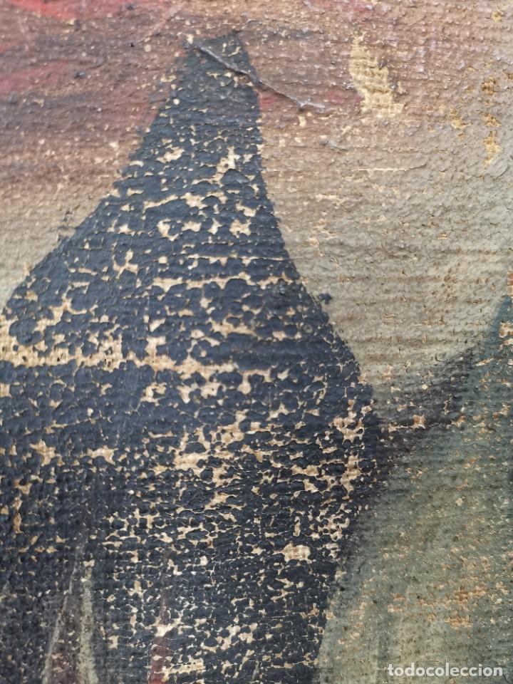 Arte: OLEO NATURALEZA MUERTA-BODEGON-CAZA-PESCA -SIGLO XVIII-CATALUÑA-- --REF-MO - Foto 27 - 248018720