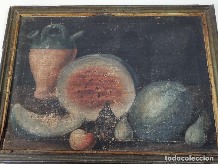 Arte: OLEO NATURALEZA MUERTA-BODEGON-CAZA-PESCA -SIGLO XVIII-CATALUÑA-- --REF-MO - Foto 32 - 248018720