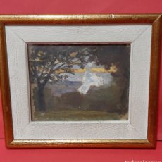 Arte: AURELIO GARCÍA LESMES (1884 - 1942). PAISAJE.. Lote 248056110