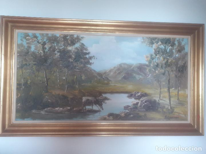 OLEO SIGLO XX - FIRMADO - A. ROCAMORA (Arte - Pintura - Pintura al Óleo Contemporánea )