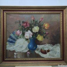 Arte: 2 BODEGONES AL OLEO DE ANTONIO MANCINI. Lote 248217750