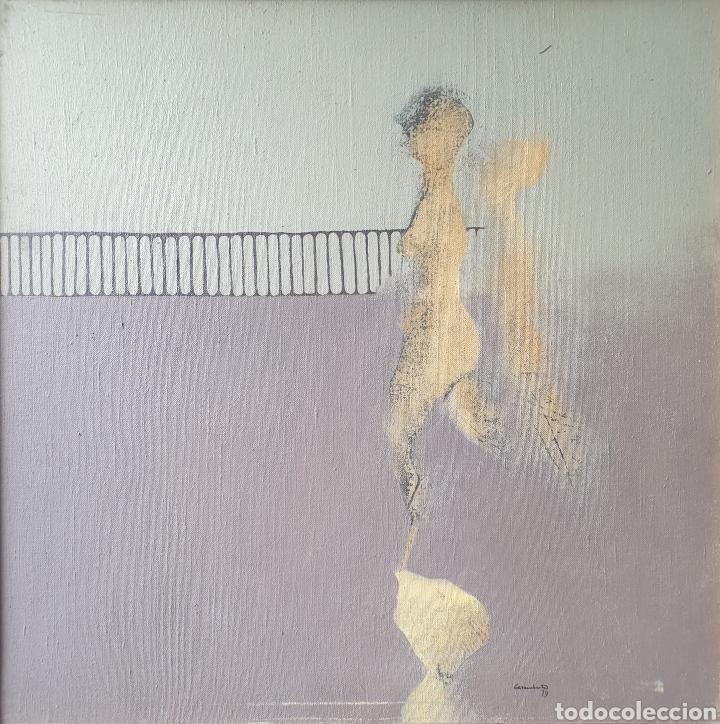 JORDI CASACUBERTA I CODINACH (OLOT, 1944-2011) - S/T.OLEO/TELA.FIRMADO.1979. (Arte - Pintura - Pintura al Óleo Contemporánea )