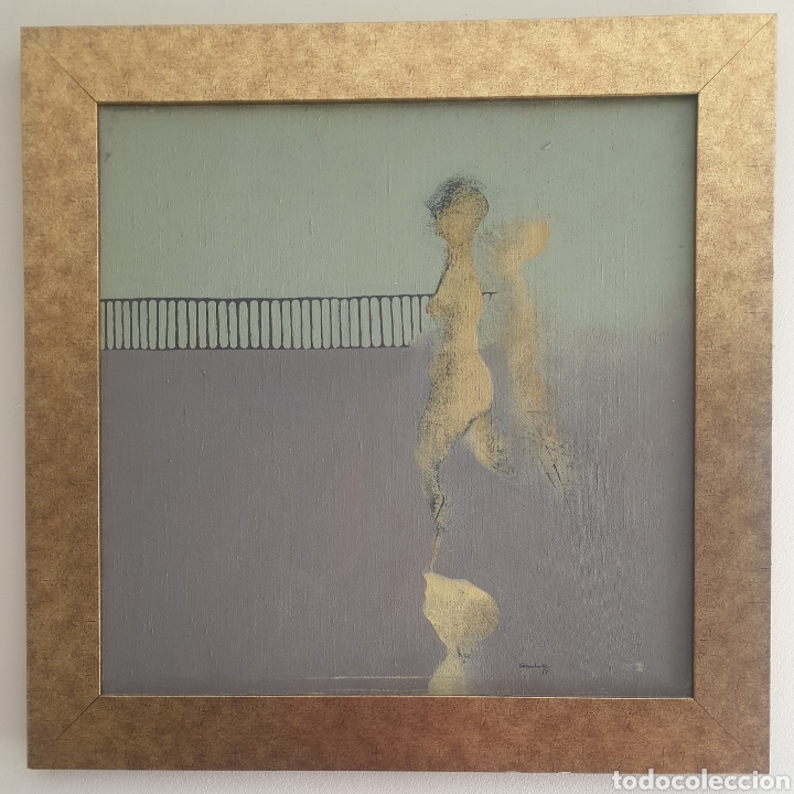 Arte: Jordi Casacuberta i Codinach (Olot, 1944-2011) - S/T.Oleo/Tela.Firmado.1979. - Foto 2 - 248302705