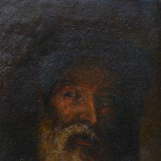 Arte: RETRATO DE HOMBRE, PINTURA AL ÓLEO SOBRE TELA, FINALES SIGLO XIX, SIN FIRMAR. 37X27,5CM. Lote 248709210