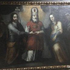 """Arte: ÓLEO SOBRE LIENZO """"LOS ESPONSALES VIRGEN MARÍA"""" SEGUIDOR DE MATÍAS DE ARTEAGA SIGLO-XVII/XVIII. Lote 249030315"""