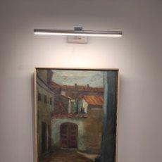 Arte: OLEO SOBRE LIENZO, LA PUERTA DE CASA. JOSE ORTUÑO. ENMARCADO 63X52CM. Lote 249051575