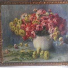 Arte: ÓLEO ANTONIA FERRERAS BERTRÁN (LÉRIDA, 1873 - BARCELONA, 1953). Lote 249111040
