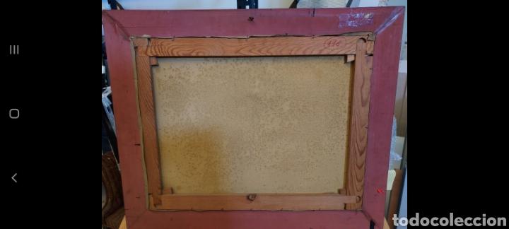 Arte: La recogida de la aceituna. Oleo sobre Lienzo - Foto 5 - 249202075