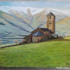 Arte: PERE PLA PARÉS. ÓLEO SOBRE TELA CON MEDIDAS 55 X 46. SURP, PALLARS SOBIRÀ. 1996. Lote 249489850