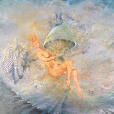 Arte: JOSÉ GERSON (SUIZA, 1941) - COMPOSICIÓN SURREALISTA.MAROUFLE/TABLA.FIRMADO.. Lote 247672490