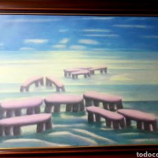 Arte: CUADRO DE ABREU BASTOS PINTOR GALLEGO GALICIA. Lote 251076435