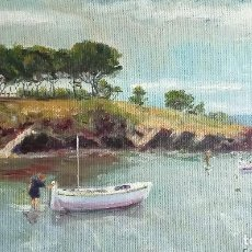 Arte: ÓLEO, J. CAMPS GORDON (1894-1987) CADAQUÉS (51X32). Lote 251154220