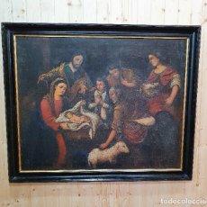 Arte: OLEO RELIGIOSO SOBRE LIENZO S.XVIII. Lote 251285685
