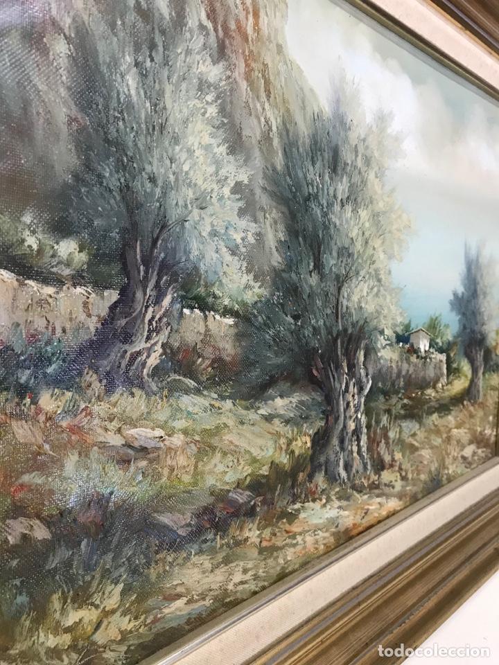 Arte: Óleo sobre tela firmado 72.55cm con marco.Sin marco 54x37cm - Foto 4 - 251521640