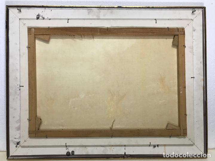 Arte: Óleo sobre tela firmado 72.55cm con marco.Sin marco 54x37cm - Foto 8 - 251521640