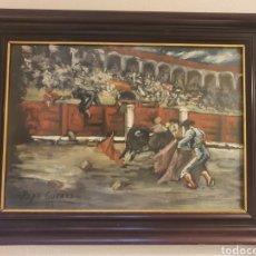 Arte: PINTURA REALIZADA POR EL PINTOR ALGECIREÑO PEPE GUERRA. Lote 251744815