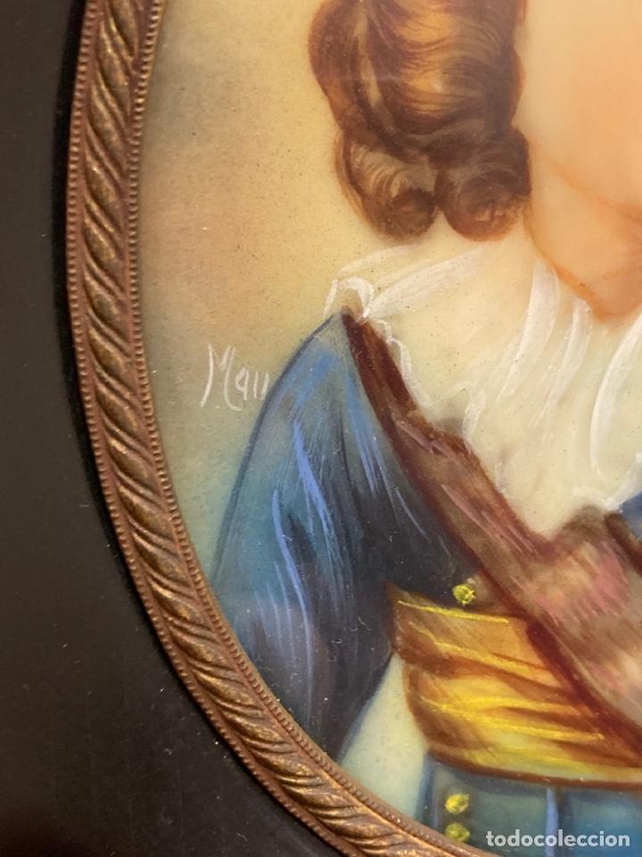 Arte: Bonita miniatura pintada - Foto 4 - 251975595