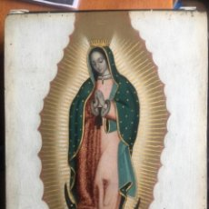 Arte: ESCUELA MEXICANA SIGLO XVIII: VIRGEN GUADALUPANA. Lote 251984260