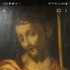 Arte: ECCE HOMO. CIRCULO LUIS MORALES. (1510-1586) TABLA 75CMX 45CM APROX.. Lote 251465125