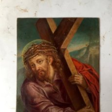 Arte: ANTIGUA PINTURA , OLEO SOBRE COBRE SIGLO XVIII, ESCUELA ESPAÑOLA. Lote 252054020