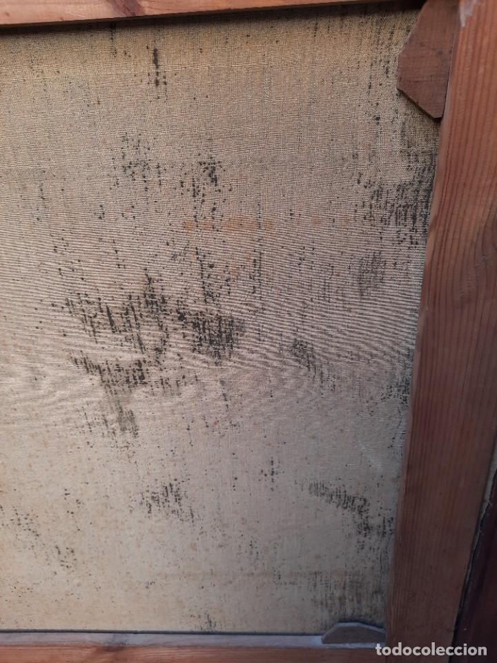 Arte: oleo sobre lienzo-BATALLA NAVAL- - Foto 9 - 200749538